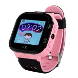 Детские часы с GPS-трекером GW500S (розовые)