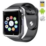 Умные часы smart watch A1 (поддержка iphone и android)