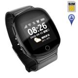 Детские часы с GPS-трекером EW100S (черные)
