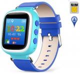 Детские часы с GPS-трекером Q60S ОРИГИНАЛ (голубые)