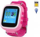 Детские часы с GPS-трекером Q60S ОРИГИНАЛ (розовые)