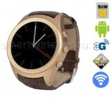 SMARUS O2 (коричневые) - первые часы смартфон на Android Wear