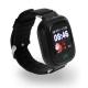 Q90 детские часы с GPS-трекером ОРИГИНАЛ (черные)