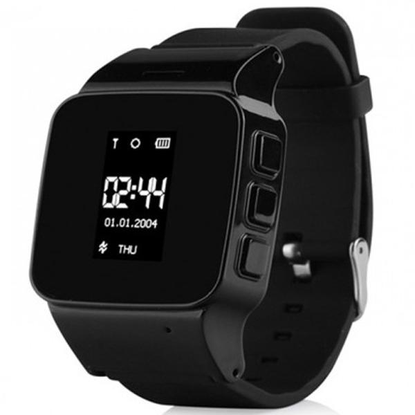 D99 детские часы с GPS-трекером  ОРИГИНАЛ (черные)