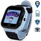 GW500S детские часы с GPS-трекером и фонариком (голубые)