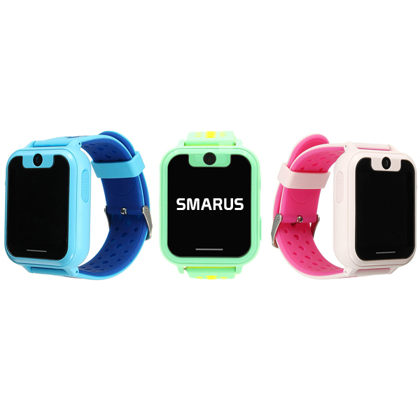 Часы с GPS трекером и камерой SMARUS kids K10