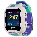 GPS часы SMARUS kids K6 белые (противоударные и водостойкие)