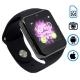 Q7SP умные часы телефон (поддержка iphone и android) черные