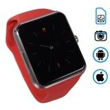 Q7 умные часы телефон (поддержка iphone и android) розовые