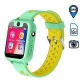 Детские часы с GPS трекером SMARUS kids K10 (зеленые)