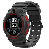SMARUS kids K500 черные (GPS, 4G, видеозвонок, водонепроницаемые)