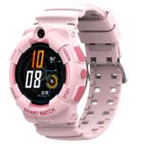 SMARUS kids K500 розовые (GPS, 4G, видеозвонок, водонепроницаемые)