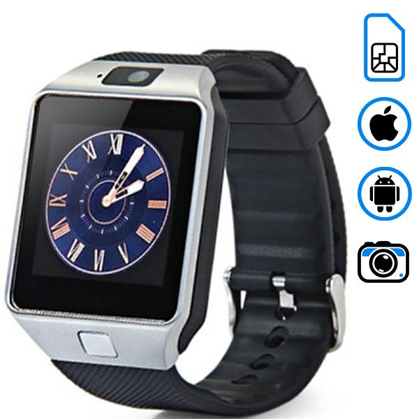 Умные часы SMARUS M9 (поддержка iphone и android)