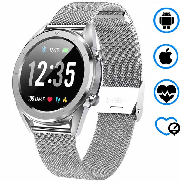 Умные часы SMARUS Vita (Тонометр, ЭКГ, поддержка Iphone и Android)
